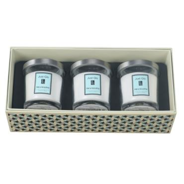 JUST GLO PINE & EUCALYPTUS 3 X 140G CANDLES