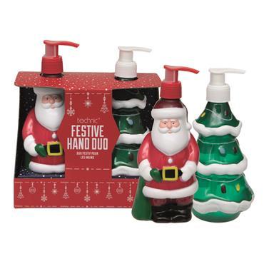 TECHNIC CHRISTMAS NOVELTY FESTIVE HAND DUO