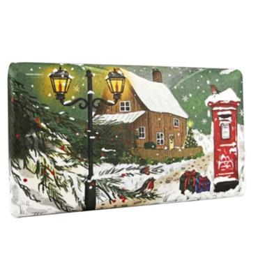 ENGLISH COUNTRYSIDE IN WINTER 190G SOAP
