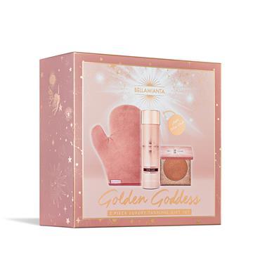 Bellamianta Golden Goddess Ultra Dark Tanning Gift Set