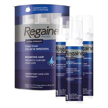 REGAINE FOAM FOR MEN 3MONTHS