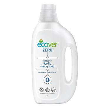 ECOVER ZERO SENSITIVE NON-BIO LAUNDRY LIQUID 1.5 LITRES