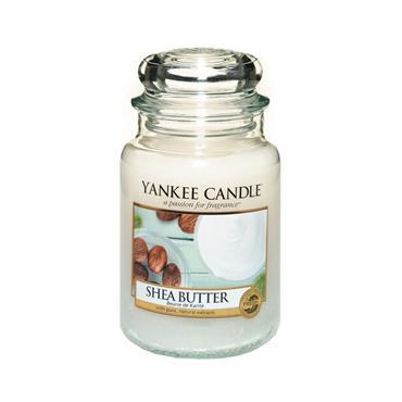 YANKEE SHEA BUTTER LARGE JAR