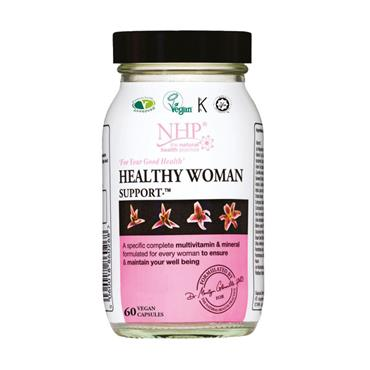 NHP HEALTHY WOMAN SUPPORT 60 CAPSULES