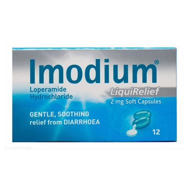 IMODIUM LIQUIRELIEF 12 CAPSULES