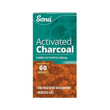 SONA ACTIVATED CHARCOAL 60S