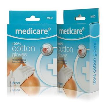 MEDICARE 100% COTTON GLOVES