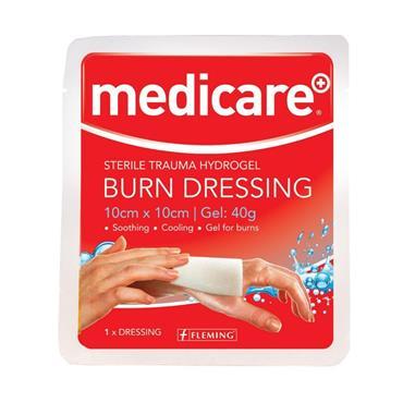 MEDICARE BURN DRESSING 10CM X 10CM
