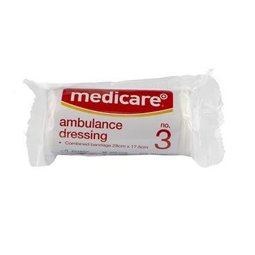 MEDICARE AMBULANCE DRESSING NO3