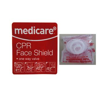 MEDICARE CPR FACE SHIELD