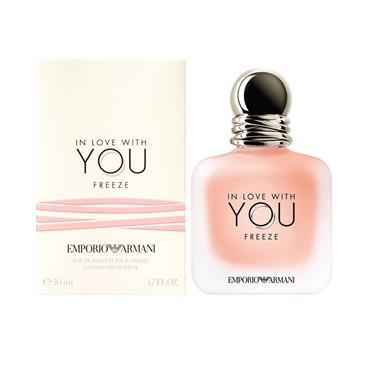EMPORIO ARMANI IN LOVE WITH YOU FREEZE EDP POUR FEMME 50ML
