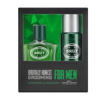 BRUT 100ML 2 PIECE SET