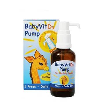 SHIELD PUMP BABY VITD3 28ML