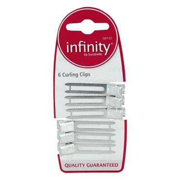 INFINITY CURLING CLIPS 6