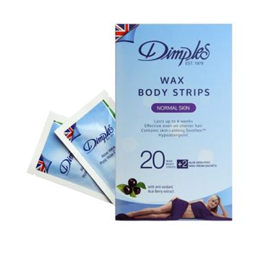 DIMPLES WAX BODY STRIPS