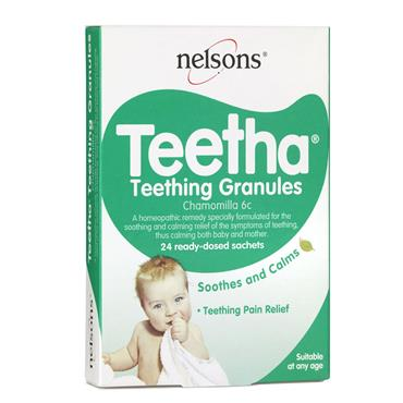 NELSONS TEETHING GRANULES 24S
