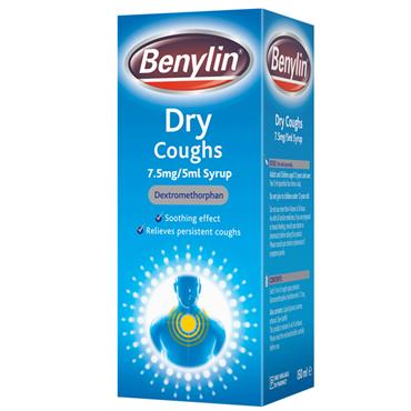 BENYLIN DRY COUGHS 125ML
