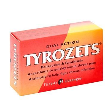 TYROZETS LOZENGES 24S