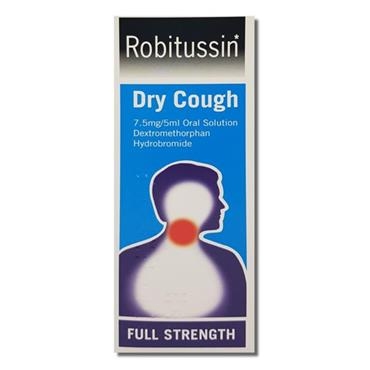 ROBITUSSIN DRY COUGH ADULT 100ML