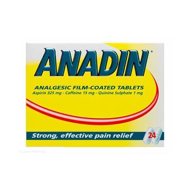 ANADIN 24 ANALGESIC FILM COATED TABLETS