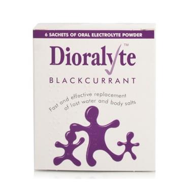 DIORALYTE BLACKCURANT 6PK