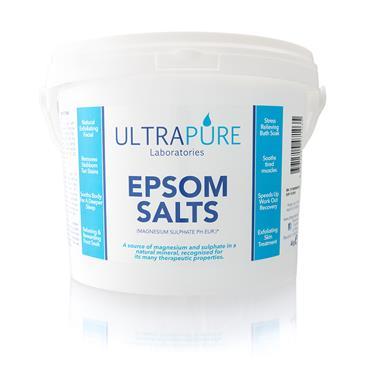 ULTRA PURE EPSOM SALTS 4KG