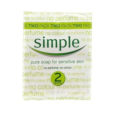 SIMPLE SOAP TWIN PACK 125G