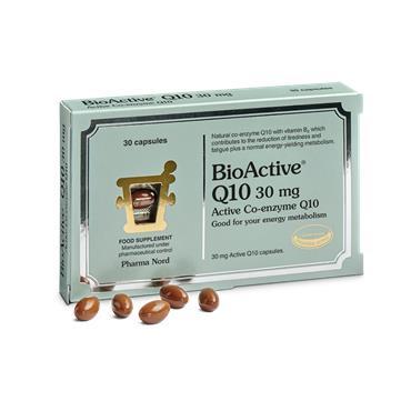 PHARMA NORD BIOACTIVE Q10 30MG 30 CAPSULES