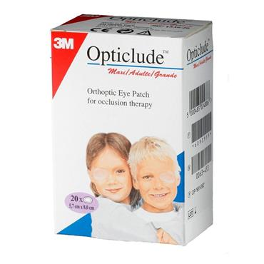 OPTICLUDE EYE PATCH ADULT