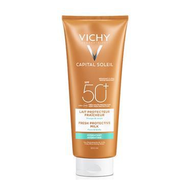 VICHY SOLIEL SUN MILK FOR FACE & BODY SPF 50+ 300ML