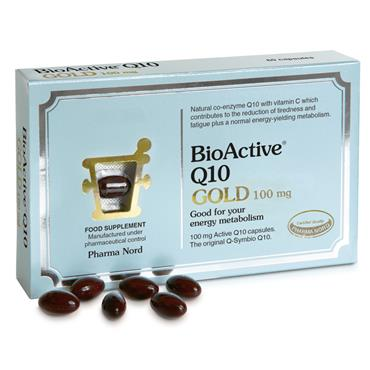 PHARMA NORD BIOACTIVE Q10 GOLD 100MG 30 CAPSULES