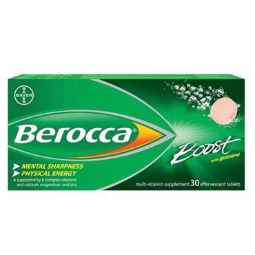 BEROCCA BOOST EFFERVES  30S