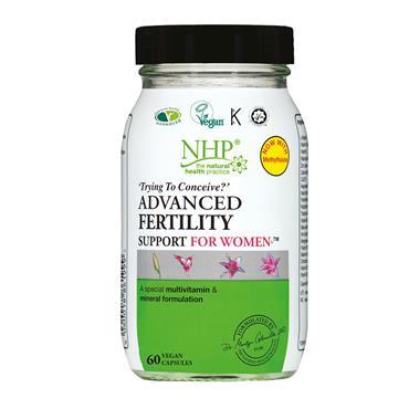 NHP ADVANCED FERTILITY FOR WOMEN 60 CAPSULES