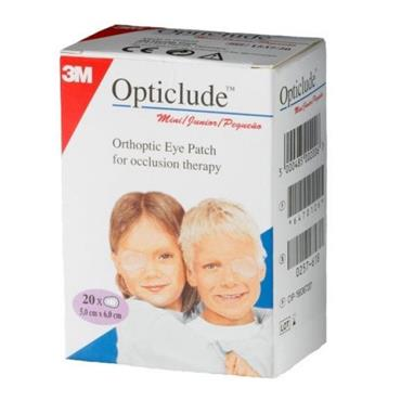 OPTICLUDE JUNIOR EYE PATCHES 20 PATCHES