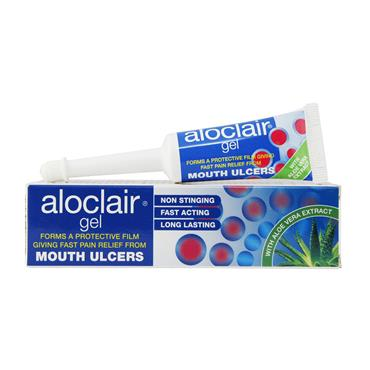 ALOCLAIR GEL MOUTH ULCERS