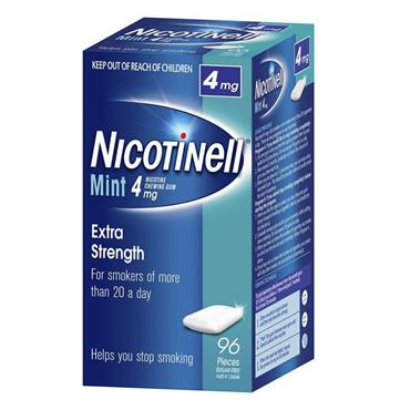 NICOTINELL COOL MINT GUM 4M 96