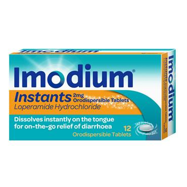 IMODIUM INSTANTS 2MG TABLETS 12S