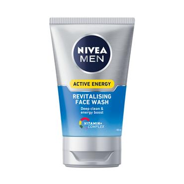NIVEA ACTIVE ENERGY FACE WASH GEL 100ML