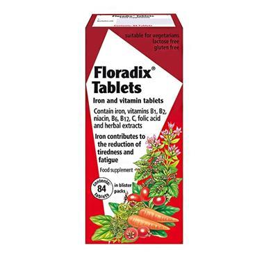SALUS FLORADIX TABLETS 84S