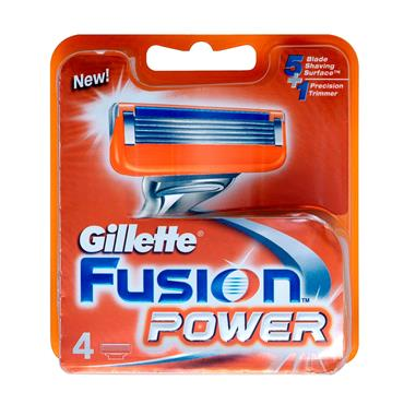 GILLETTE FUSION POWER BLADES 4 PACK