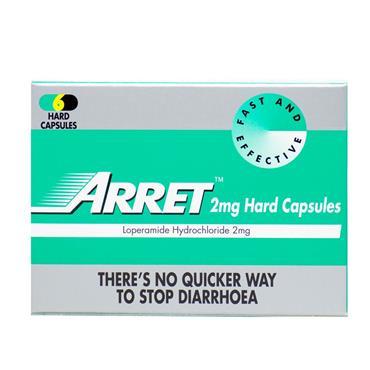 ARRET 2MG HARD CAPSULES 12S