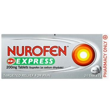 NUROFEN EXPRESS 200MG 24S