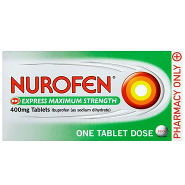 NUROFEN EXPRESS 400MG 12 TABLETS
