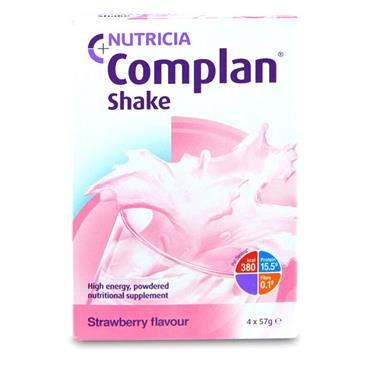COMPLAN STRAWBERRY FLAVOUR SHAKE 228G