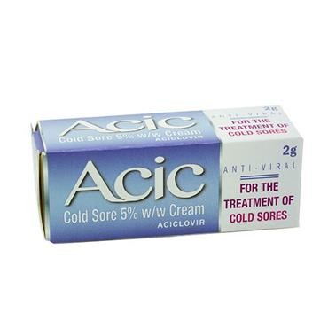 ACIC COLD SORE 5% CREAM