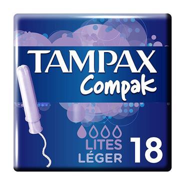 TAMPAX COMPAK LITES 18S