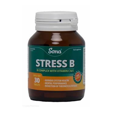 SONA STRESS B VITAMINS 30'S