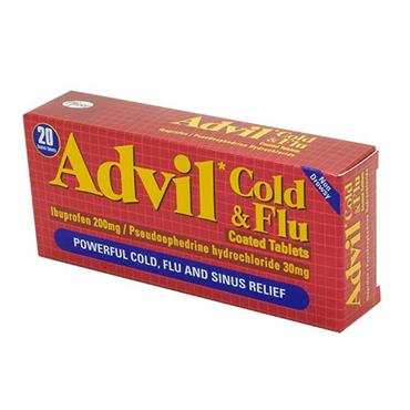 ADVIL COLD & FLU 20S