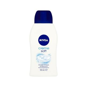 NIVEA CREME SOFT  SHOWER CREAM 50ML