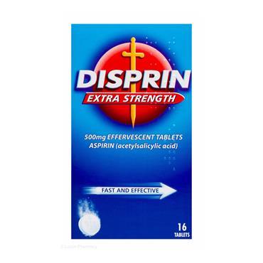 DISPRIN EXTRA STRENGTH 16 TABLETS